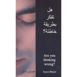 Arabisch, Brochure, Are you thinking wrong?, Joyce Meyer