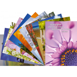 Duits, Ansichtkaart met Bijbeltekst, Diverse