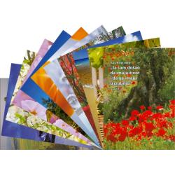 Kroatisch, Ansichtkaart met Bijbeltekst, Diverse