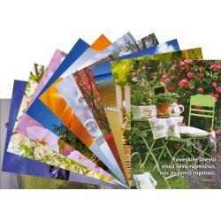 Litouws, Ansichtkaart met Bijbeltekst, Diverse