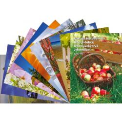 Slowaaks, Ansichtkaart met Bijbeltekst, Diverse