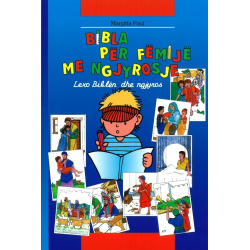 Albanees, Kinderbijbel, Kleurbijbel, M. Paul