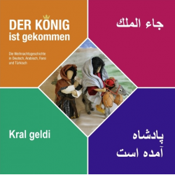 Arabisch, Brochure, De Koning is gekomen, Renate Windisch, Meertalig