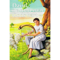 Nederlands, Kinderboek, David de man naar Gods hart, M. Waterman