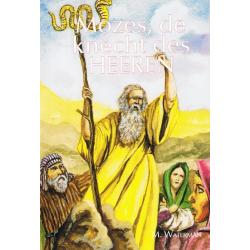 Nederlands, Kinderboek, Mozes de knecht des Heeren, M. Waterman