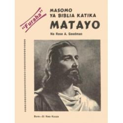 Swahili, Bijbelgedeelte, Evangelie van Matthëus
