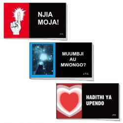 Swahili, Traktaatboekje, Comic strip, diverse