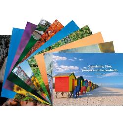 Spaans, Ansichtkaart met Bijbeltekst, Diverse