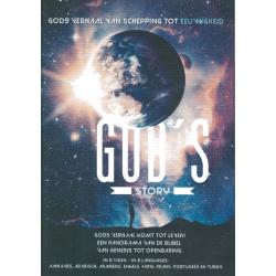 DVD, God's Story van schepping tot eeuwigheid, Meertalig