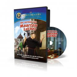 Nederlands, Kinder DVD, Het verhaal van Maarten Luther, Meertalig