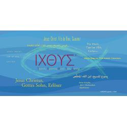 Turks, Tekstkaart, ICHTUS, Meertalig