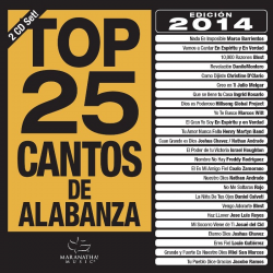 Spaans, CD, Top 25 Cantos De Alabanza 2014 [2 CD]