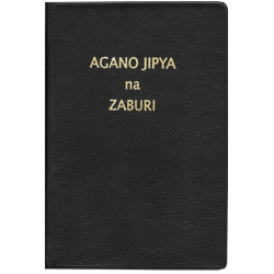 Swahili, Bijbelgedeelte, Nieuw Testament + Psalmen, SUV,  Klein formaat, Soepele kaft
