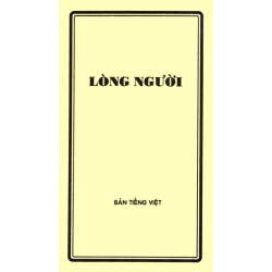 Vietnamees, Brochure, Het hart van de mens, J. R. Gschwend