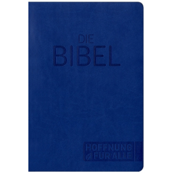 Duitse BIJBEL,  Medium formaat, Luxe uitgave,   Hoffnung für alle