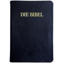 Duits, Bijbel, Schlachter 2000, Extra groot formaat, Kalfsleren kaft, Goudsnede
