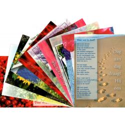 Nederlands, Ansichtkaart met Bijbeltekst, Ziekte en bemoediging, Diverse