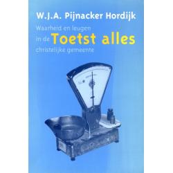 Nederlands, Boek, Toetst alles, W.J.A. Pijnacker Hordijk