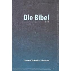 Duits, Bijbelgedeelte, Nieuw Testament + Psalmen. Elberfelder (Rev.). Klein formaat. Paperback