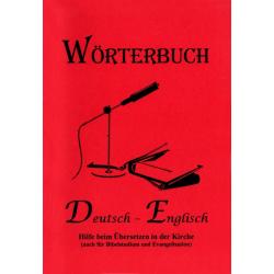 Duits - Engels Woordenboek