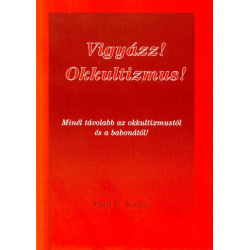 Hongaars, Brochure, Alarm! Occultisme! P.F. Kiene