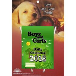 Engels, Kinder Dagscheur Kalender, Voor jongens en meisjes