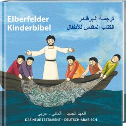 Arabisch - Duits, Kinderbijbel, Het Nieuwe Testament