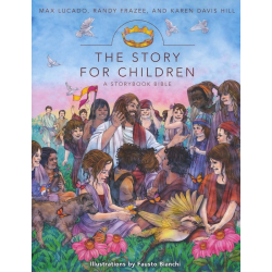 Engelse Kinderbijbel,  Het verhaal voor kinderen. Max Lucado