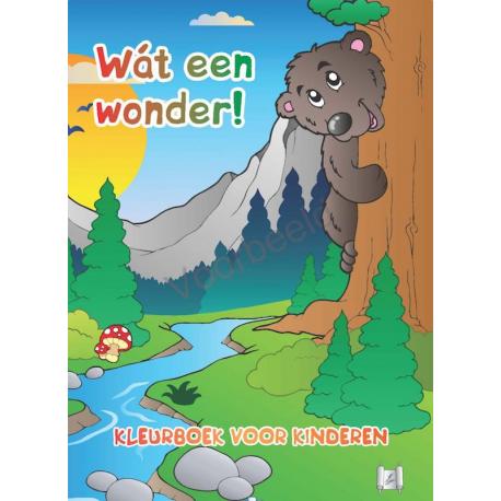 Nederlands, Kleurboek, Wát een wonder!