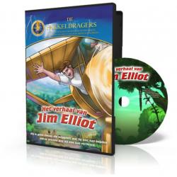 Kinder DVD, Nederlands-Engels, Het verhaal van Jim Elliot