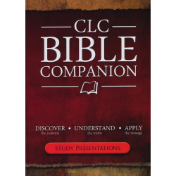 Engelse Studiebijbel,  CLC BIBLE COMPANION, Martin Manser