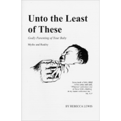 Engels, Brochure, Unto the Least of These, Rebecca Lewis