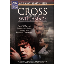 Engels, DVD, The cross and the Switchblade. David Wilkerson