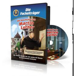 Kinder DVD, Het verhaal van Maarten Luther, Meertalig
