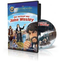 Kinder DVD, Nederlands-Engels, Het verhaal van John Wesley