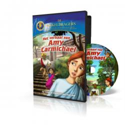 Kinder DVD, Nederlands-Engels, Het verhaal van Amy Carmichael, Meertalig