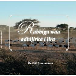 Somali - Engels, Brochure, De Heer is mijn Herder
