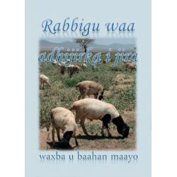Somali, Tekstkaart, Psalm 23