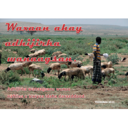 Somali, Tekstkaart, Ik ben de Goede Herder