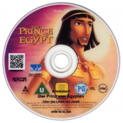 Armeens, Kinder DVD, De prins van Egypte