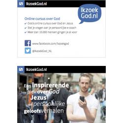 Nederlands, Uitdeelkaartje, Ik zoek God