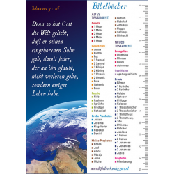 Duitse Boekenlegger, Joh. 3 vers 16