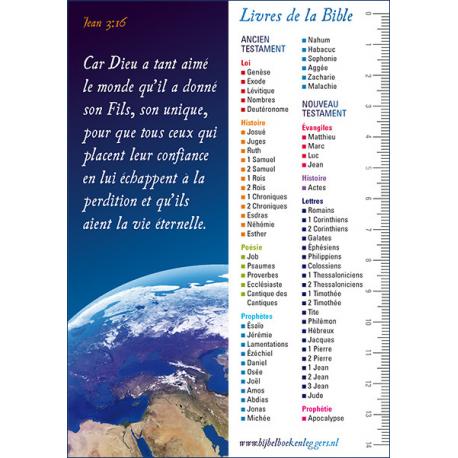 Franse Boekenlegger, Joh. 3 vers 16