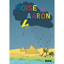 Roemeens, Kinderboek, Mozes en Aaron, S. Franke