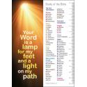 Engels, Boekenlegger, Your Word is a lamp