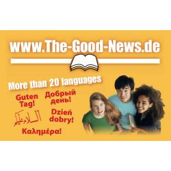Meertalig, Uitdeelkaartje, Een boodschap van God voor jou