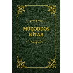 Azeri, Bijbel, Groot formaat, Soepele kaft