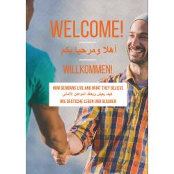 Arabisch-Duits-Engels Tijdschrift,  WELKOM, Hoe Duitsers leven en wat ze geloven.