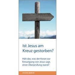 Duits, Brochure, Is Jezus aan het kruis gestorven?