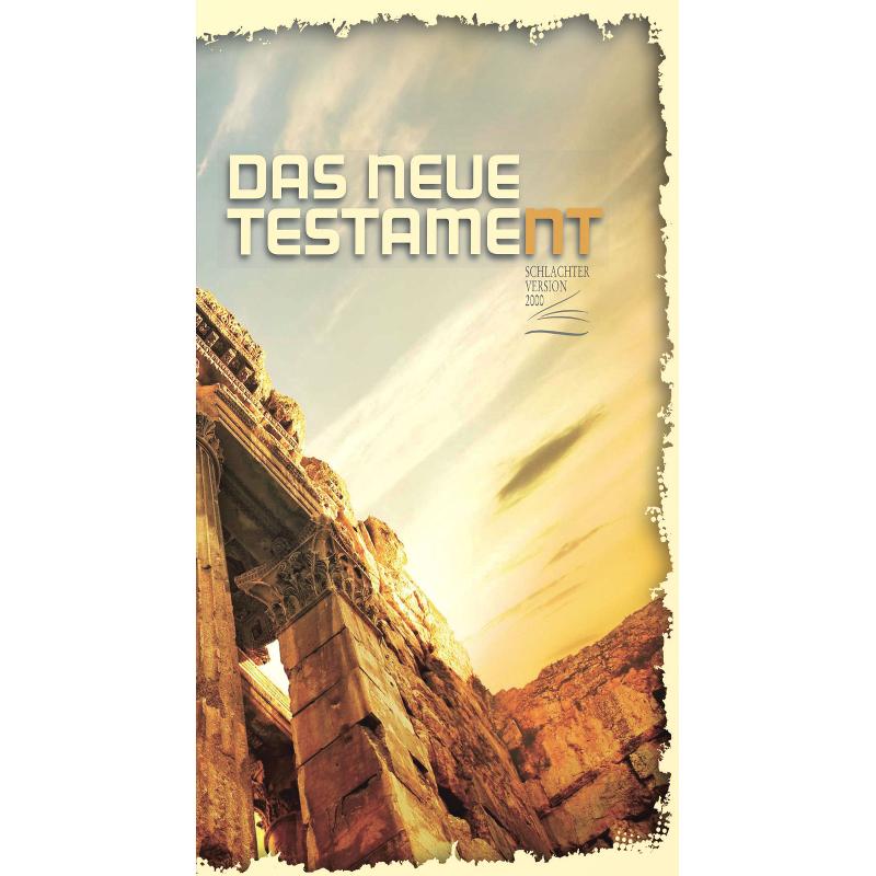 Duits Bijbelgedeelte Nieuw Testament Schlachter 2000 Medium Formaat Paperback
